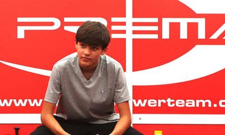 Sebastián Montoya será piloto de la F4 para la temporada 2020