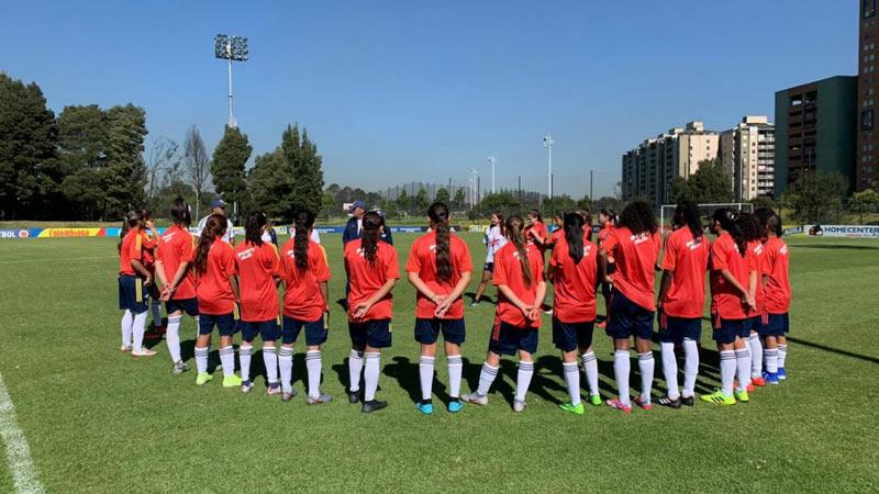 Selección Colombia Femenina sigue con su preparación para el Sudamericano