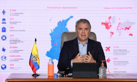 """""""No va haber fútbol en Colombia después del 27 de abril"""": Iván Duque"""