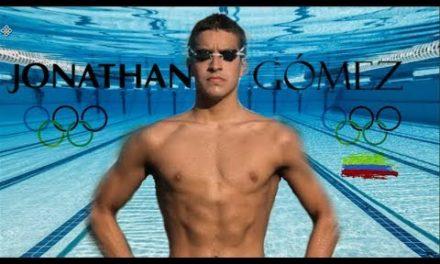 Nadador caleño Jonathan Gómez adelanta campaña benéfica por coronavirus