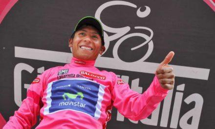 Camiseta rosada con la que Nairo Quintana ganó el Giro 2014 fue subastada como ayuda para Covid-19