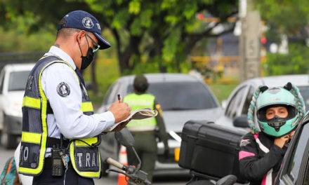 Más de 500 notificaciones a conductores infractores esta semana en Cali