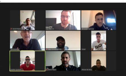 Jornada de trabajo virtual de Carlos Queiroz con jugadores de Selección Colombia