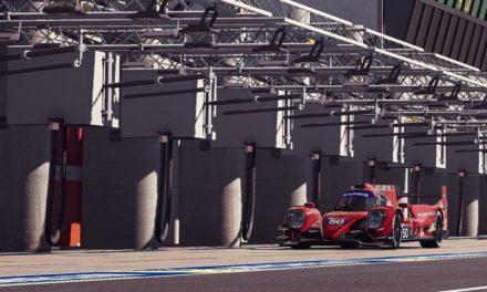 Tatiana Calderón terminó sus primeras 24 Horas Virtuales de Le Mans en equipo exclusivamente femenino