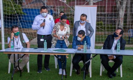 Con un Pacto por la Vida rueda el balón en las canchas sintéticas de Cali