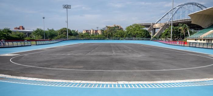 Listo el patinódromo para los I Juegos Panamericanos Junior Cali-Valle 2021