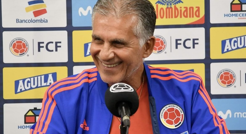 Carlos Queiroz entregó la lista de la Selección Colombia para el inicio del camino a Catar 2022