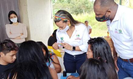 Indígenas del Valle elaboran los souvenires de los Juegos Panamericanos Junior 2021