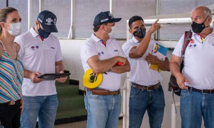 Comenzaron visitas técnicas oficiales de los I Juegos Panamericanos Junior Cali-Valle 2021