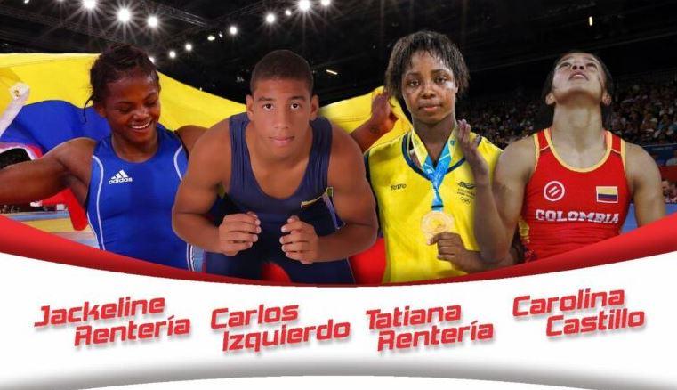 Vallecaucanos retoman concentración con la Selección Colombia de Lucha