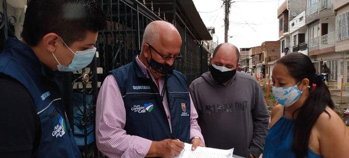 Barrios La Primavera y San Carlos de Cali serán intervenidos por la Secretaría de Infraestructura