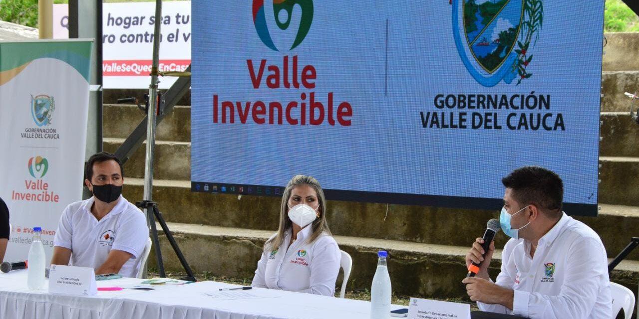 Invías y Gobernación del Valle realizan visita a obras de infraestructura vial del departamento