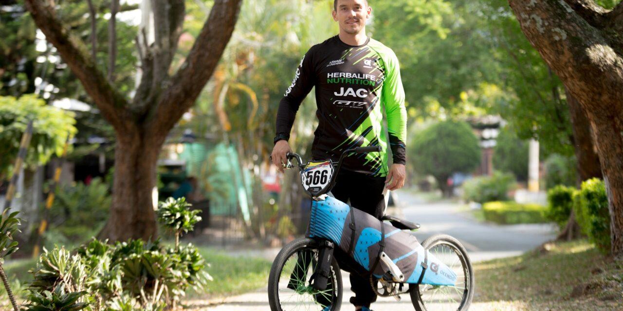 El medallista olímpico Carlos Mario Oquendo busca un podio en el mundo empresarial