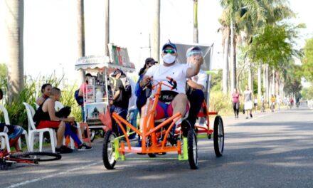 Ciclovía Intermunicipal se abrió al paso con una nutrida participación de ciclistas y deportistas