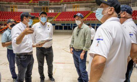 Delegación de Panam Sports revisa escenarios de los I Juegos Panamericanos Junior Cali-Valle 2021