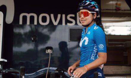 Paula Patiño renovó contrato con el equipo Movistar
