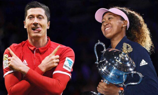 Naomi Osaka, Robert Lewandowski y Bayern Múnich, elegidos los mejores atletas AIPS 2020