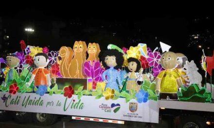 El alumbrado navideño ya rueda por las calles de la 'Sultana del Valle'