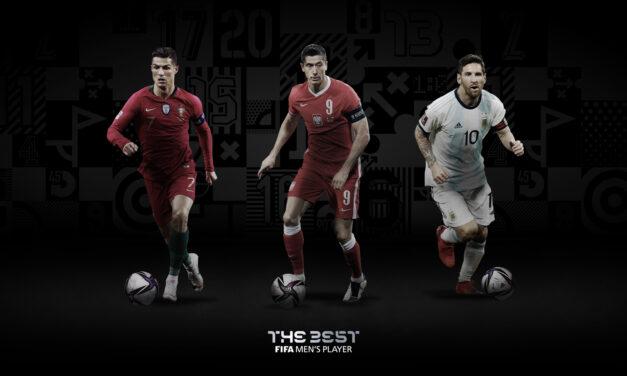 Se anunciaron los finalistas al premio The Best, lo mejor del fútbol mundial en 2020