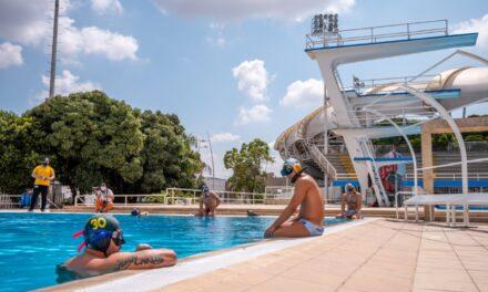 Piscina de rugby subacuático, la nueva joya de Cali Ciudad Deportiva