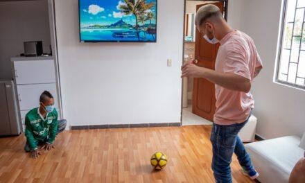 Nicolás Benedetti hizo un 'golazo' de Navidad por Brandon Camilo Valencia