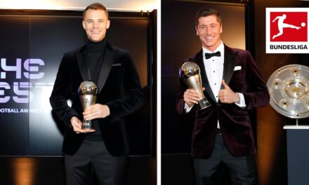FIFA: Robert Lewandowski y Manuel Neuer, los grandes ganadores en los Premios The Best 2020