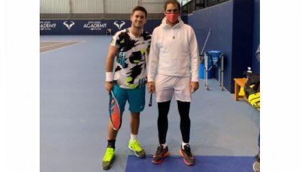 El tenista caleño Nicolás Mejía entrena en la Academia de Rafael Nadal