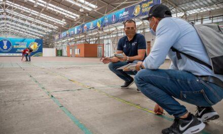 Con visita a Palmira, continúan las inspecciones a los escenarios de los Juegos Panamericanos Junior