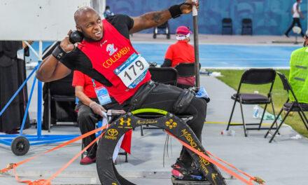 Con dos oros y dos bronces, Colombia cierra el Grand Prix de Para atletismo