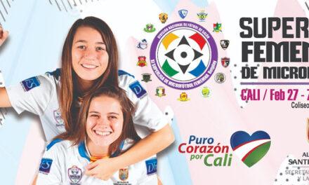 La Superliga Femenina de Microfútbol se jugará en Cali