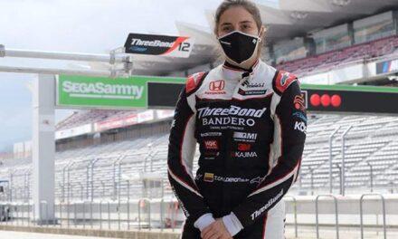 Tatiana Calderón termina pretemporada de Súper Fórmula en Fuji, Japón