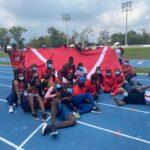 Valle del Cauca se quedó con el Campeonato Nacional de Atletismo Mayores