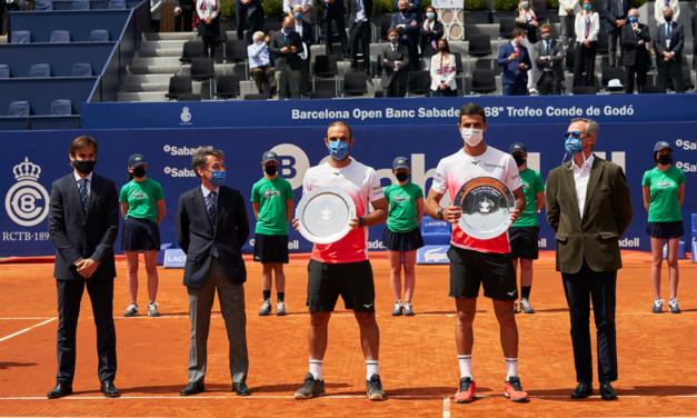 ATP: Juan Sebastián Cabal y Robert Farah, campeones en Barcelona