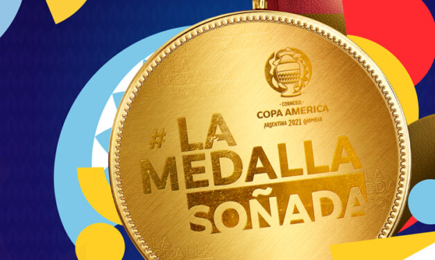 Copa América 2021 invita a los hinchas a diseñar la Medalla Soñada para los campeones