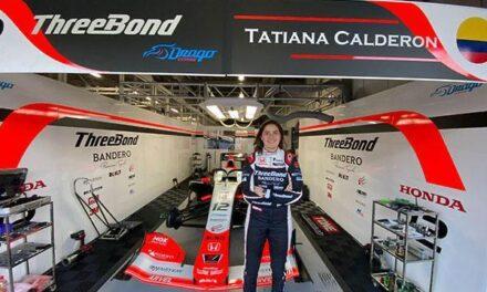 Tatiana Calderón finalizó una carrera complicada en Suzuka y parte de inmediato a Spa