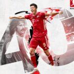 Robert Lewandowski iguala el récord de goles en la Bundesliga