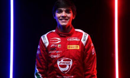Sebastián Montoya inicia su temporada de la F4 en Paul Ricard