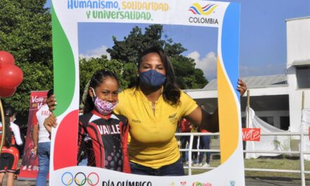 Indervalle celebró el Día Olímpico con atletas del Valle que van a Tokio