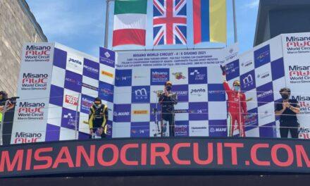 Sebastián Montoya cerró con otro podio su gran fin de semana en la Fórmula 4