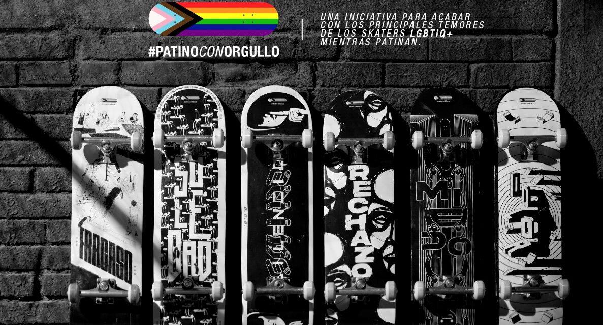 'Patino con Orgullo´, campaña para transformar prejuicios a través del deporte