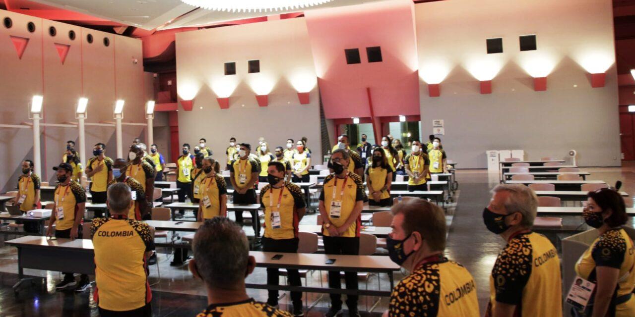 La Misión Colombia en Tokio 2020 celebró el Día de la Independencia