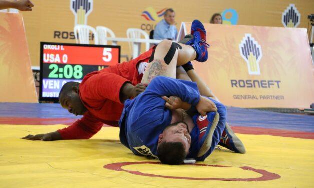 Venezuela se llevó los honores en el Campeonato Panamericano Sambo en Colombia