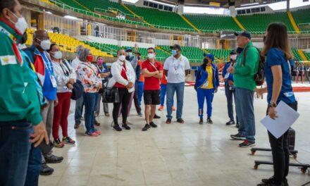 Exitosa visita de los Jefes de Misión a escenarios de los Juegos Panamericanos Junior