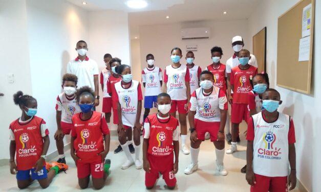 Más de 2800 niños transforman su vida con la Copa Claro por Colombia